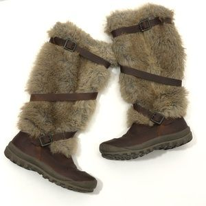 Timberland Earthkeepers Mount Holly Tall Fur Boots